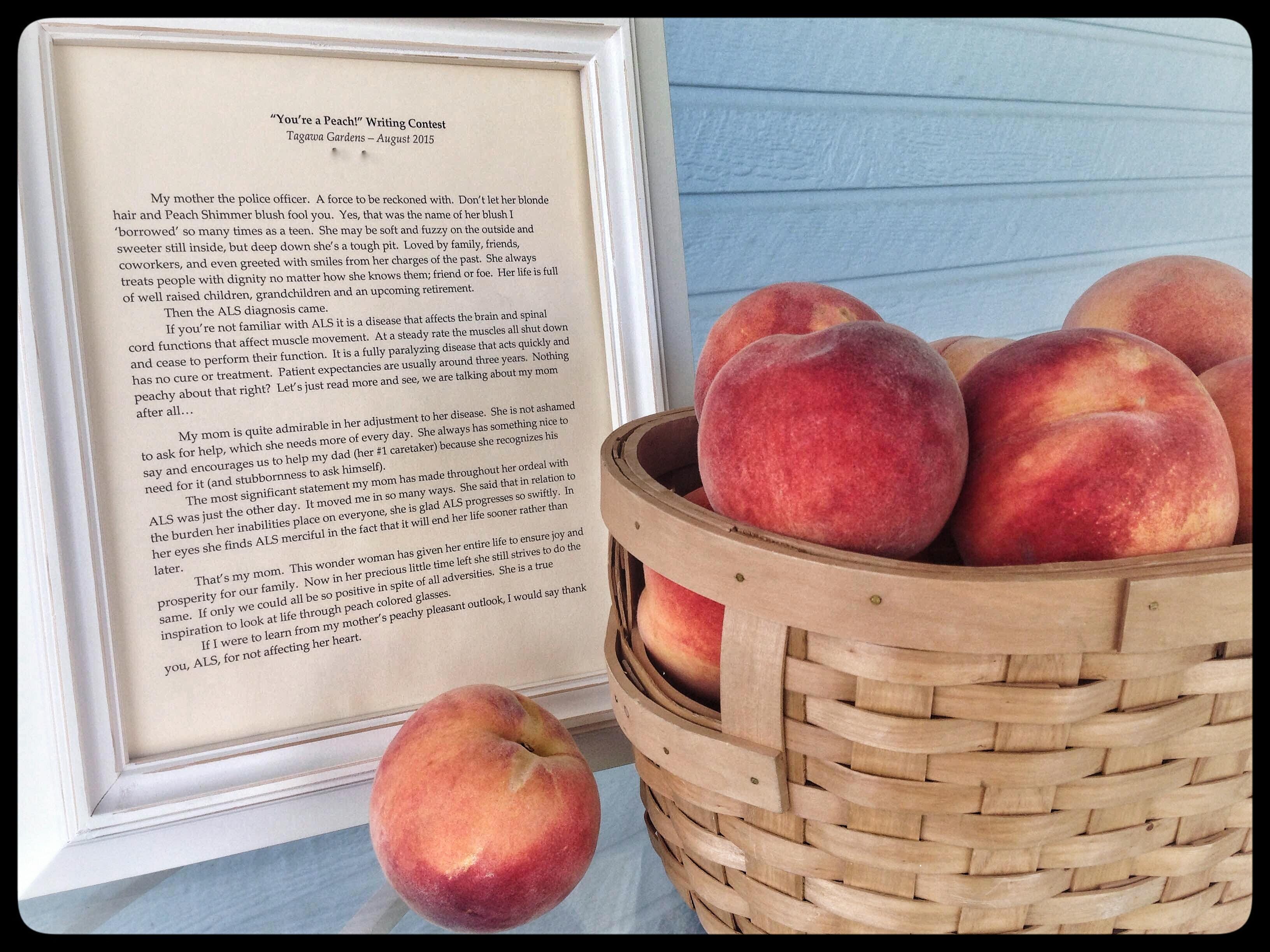 peach poem