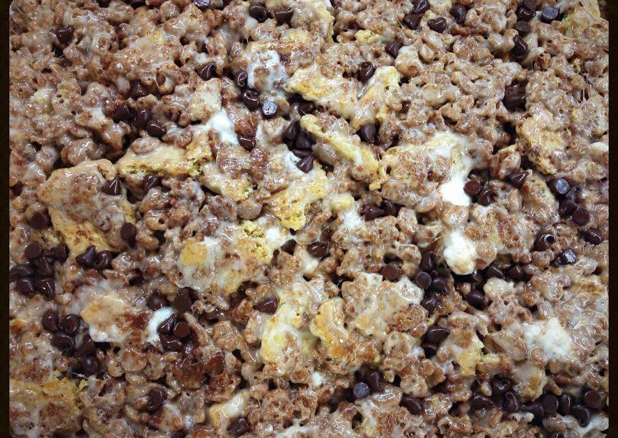 smores rice krispies treats