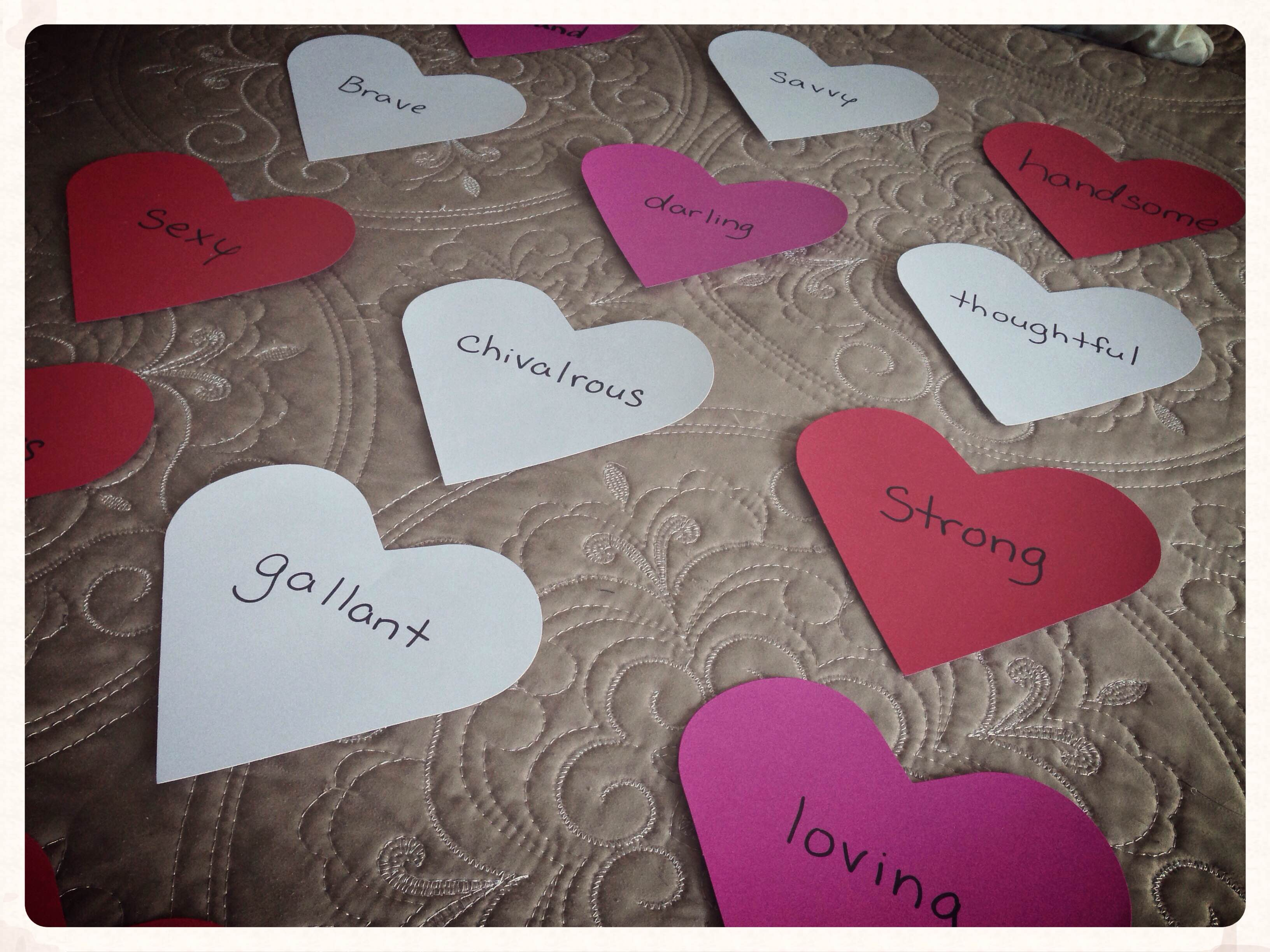 Low budget love this valentines day just be slower what says valentines day more than the conversation hearts make your own using paper and writing personalized messages to your beloved kristyandbryce Choice Image