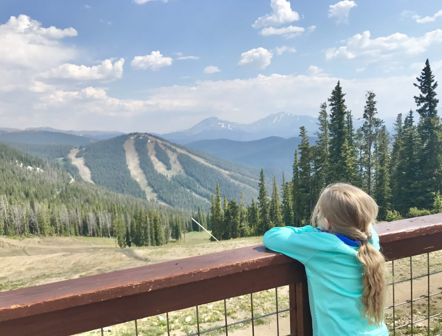 mountain distance