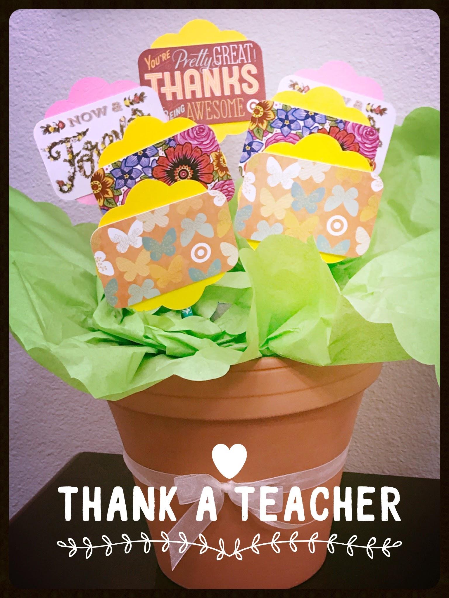 THank a teacher gift