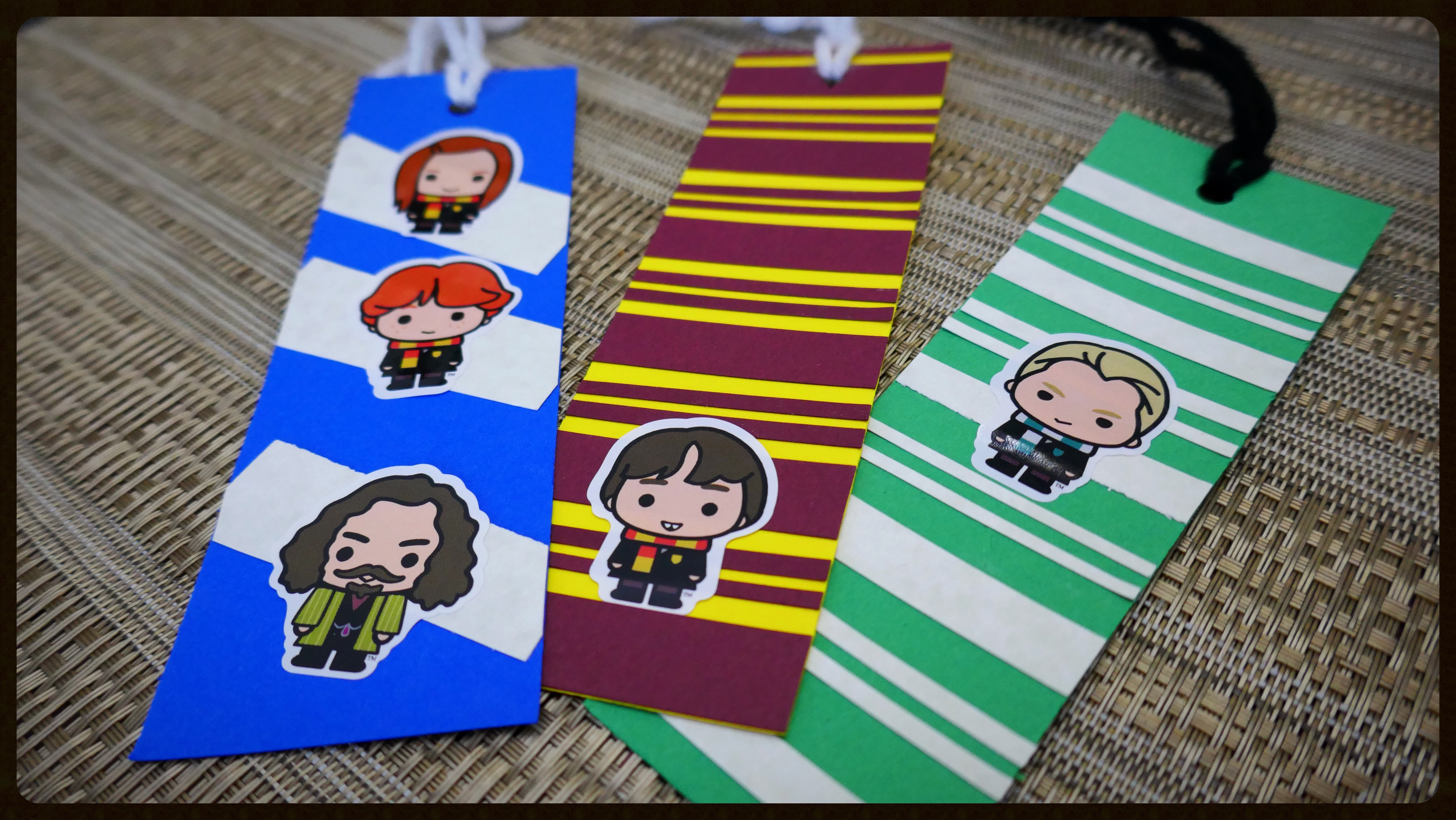 Harry Potter Party Favors Bookmarks