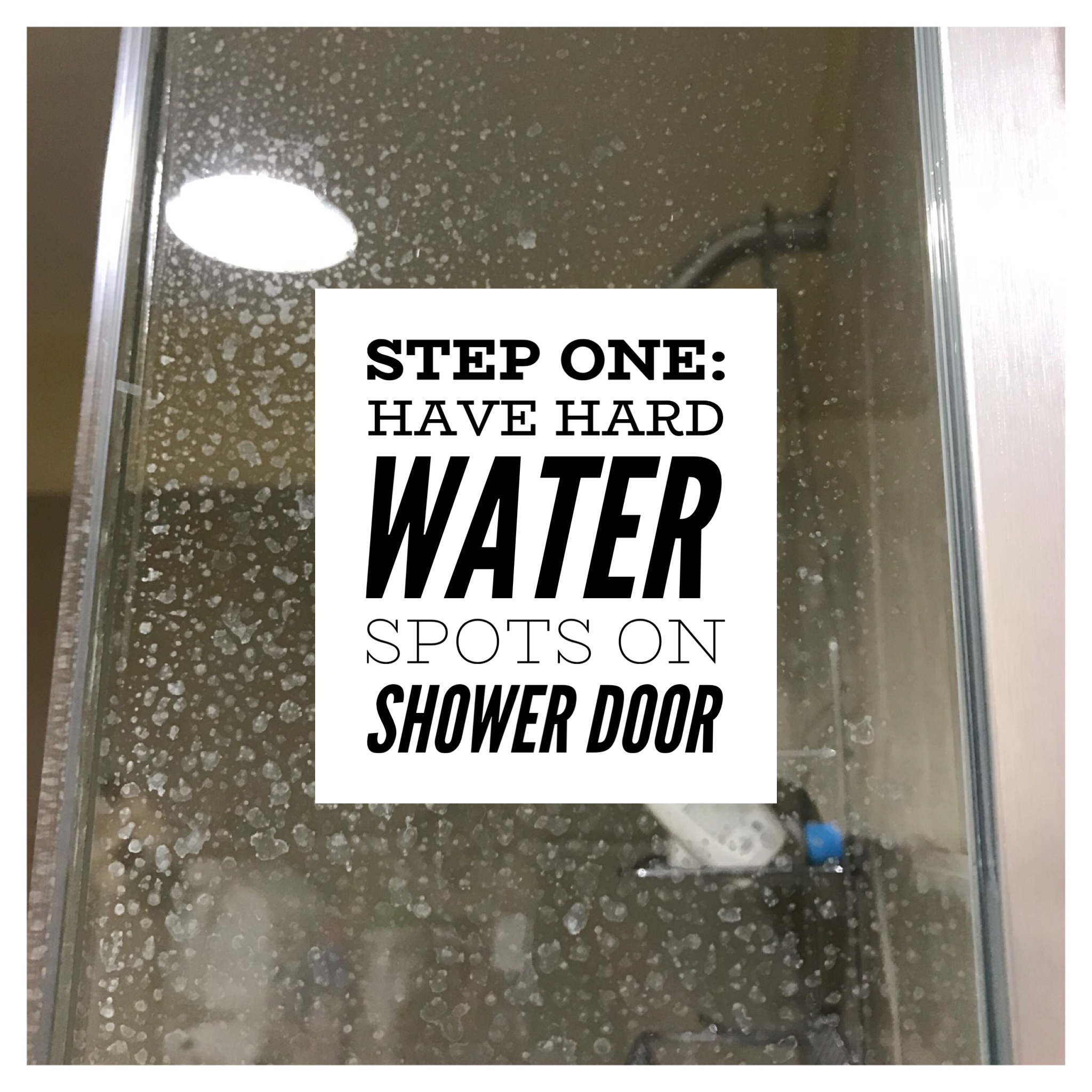 Clean A Glass Shower Door In Minutes Just Be Slower