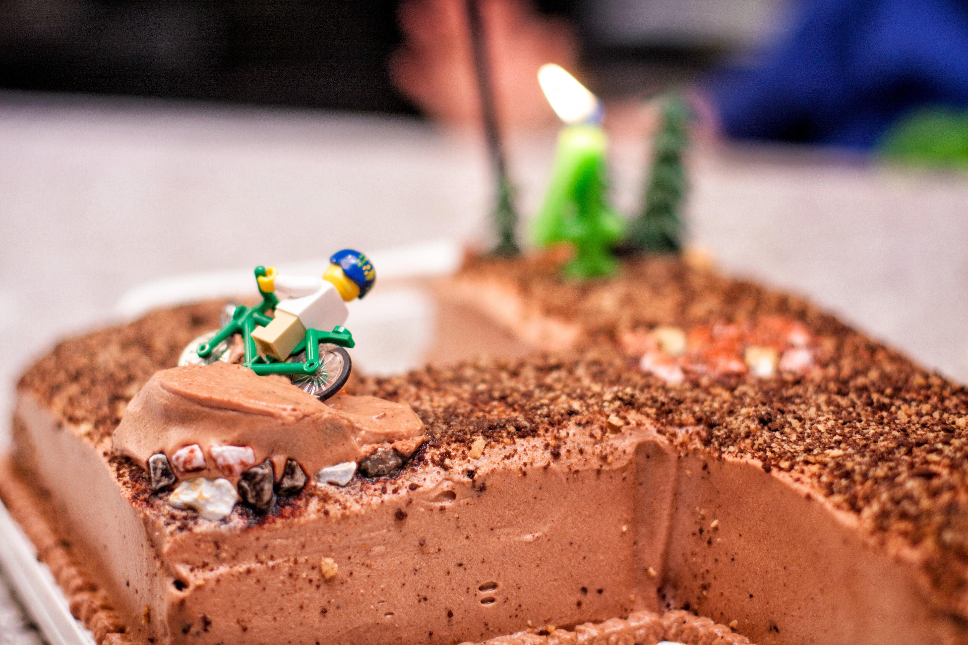 Mountain Bike Birthday Cake