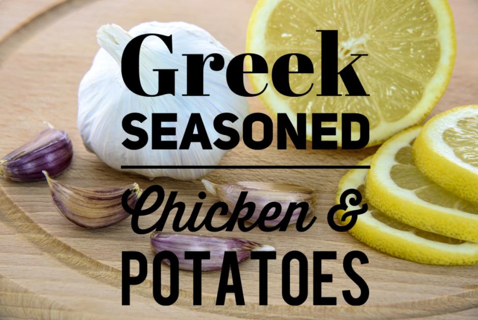 Greek chicken title