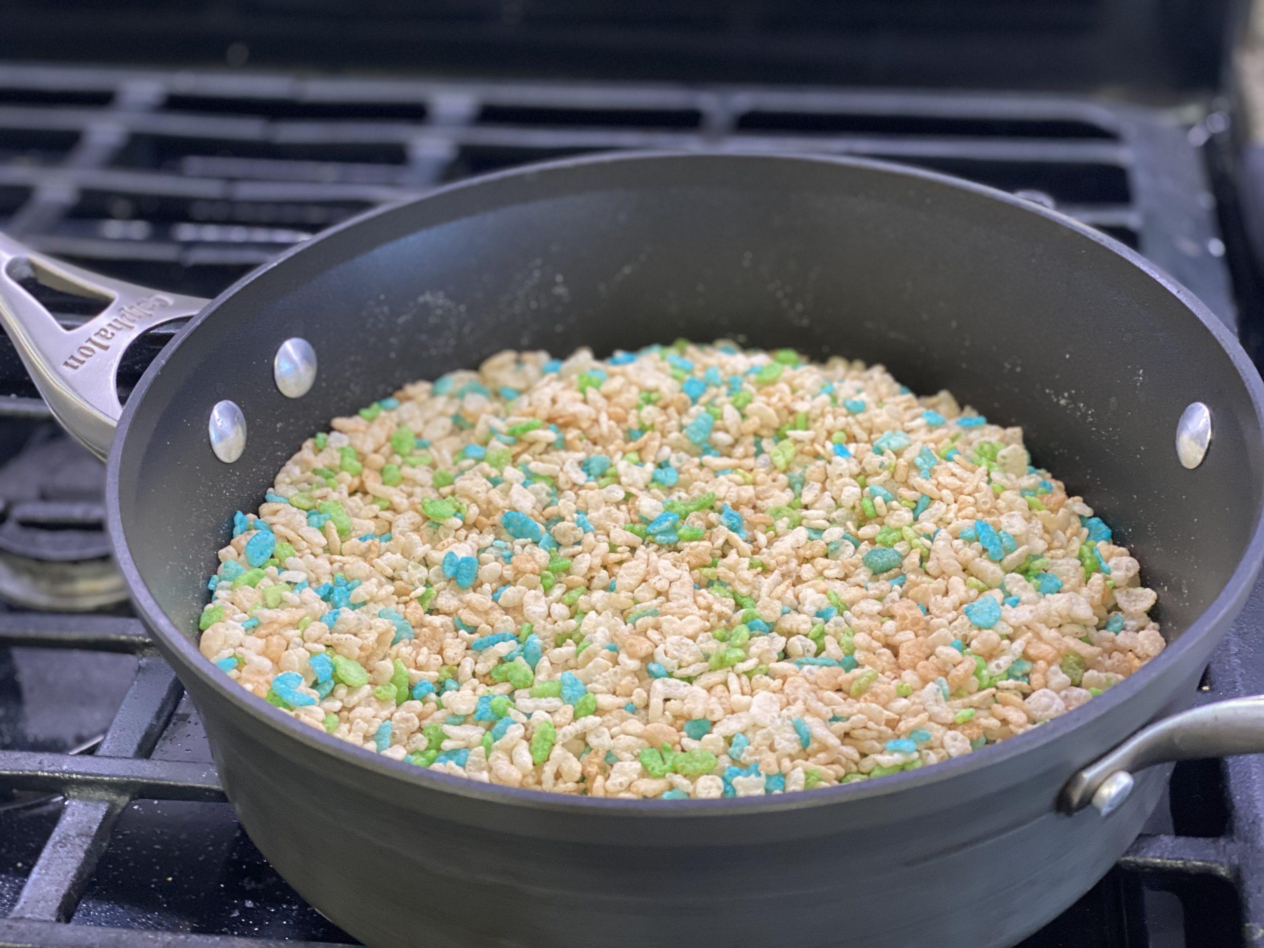 Toasted Rice Krispy Treats
