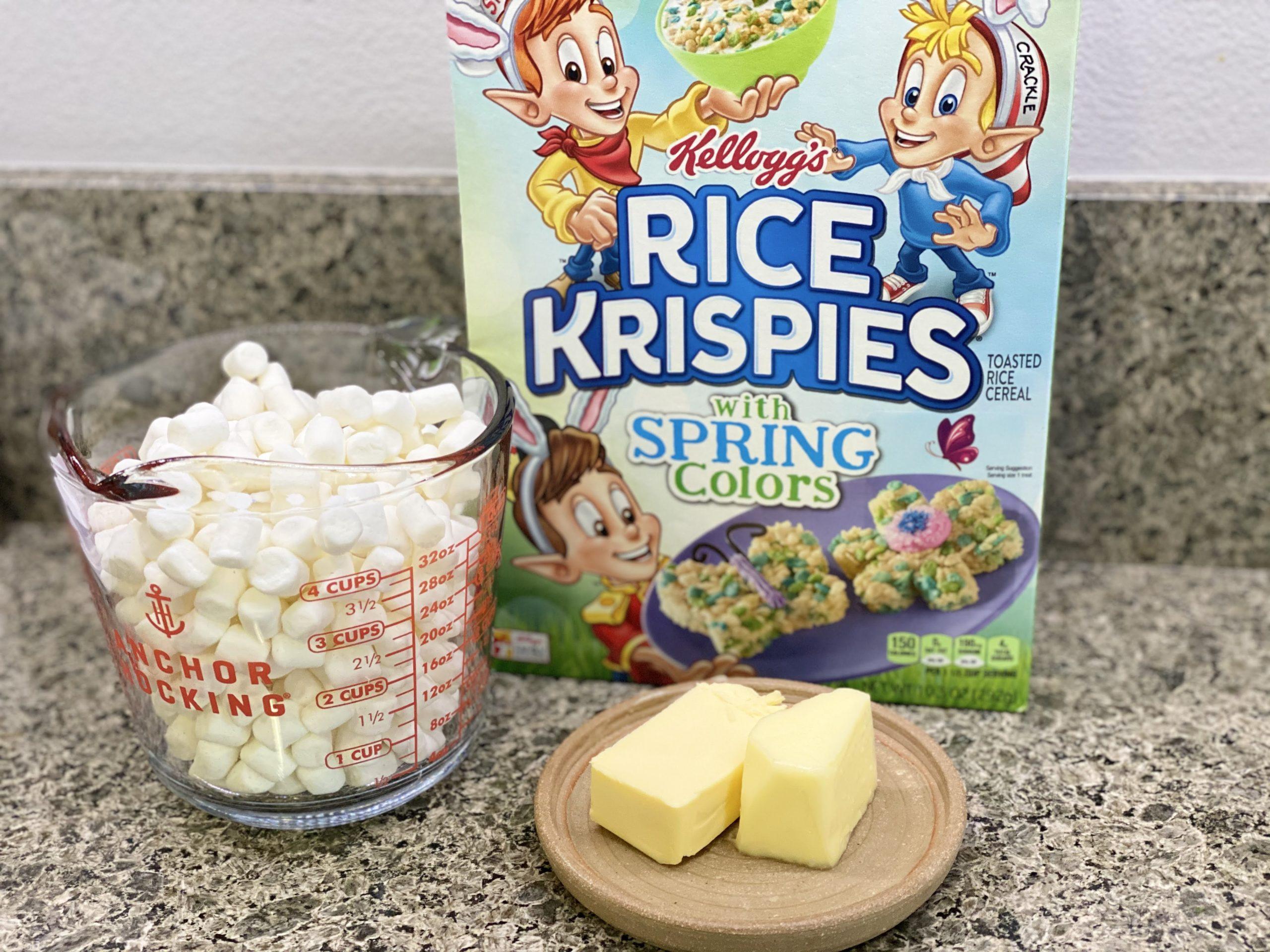 Rice Krispy Treats Ingredients
