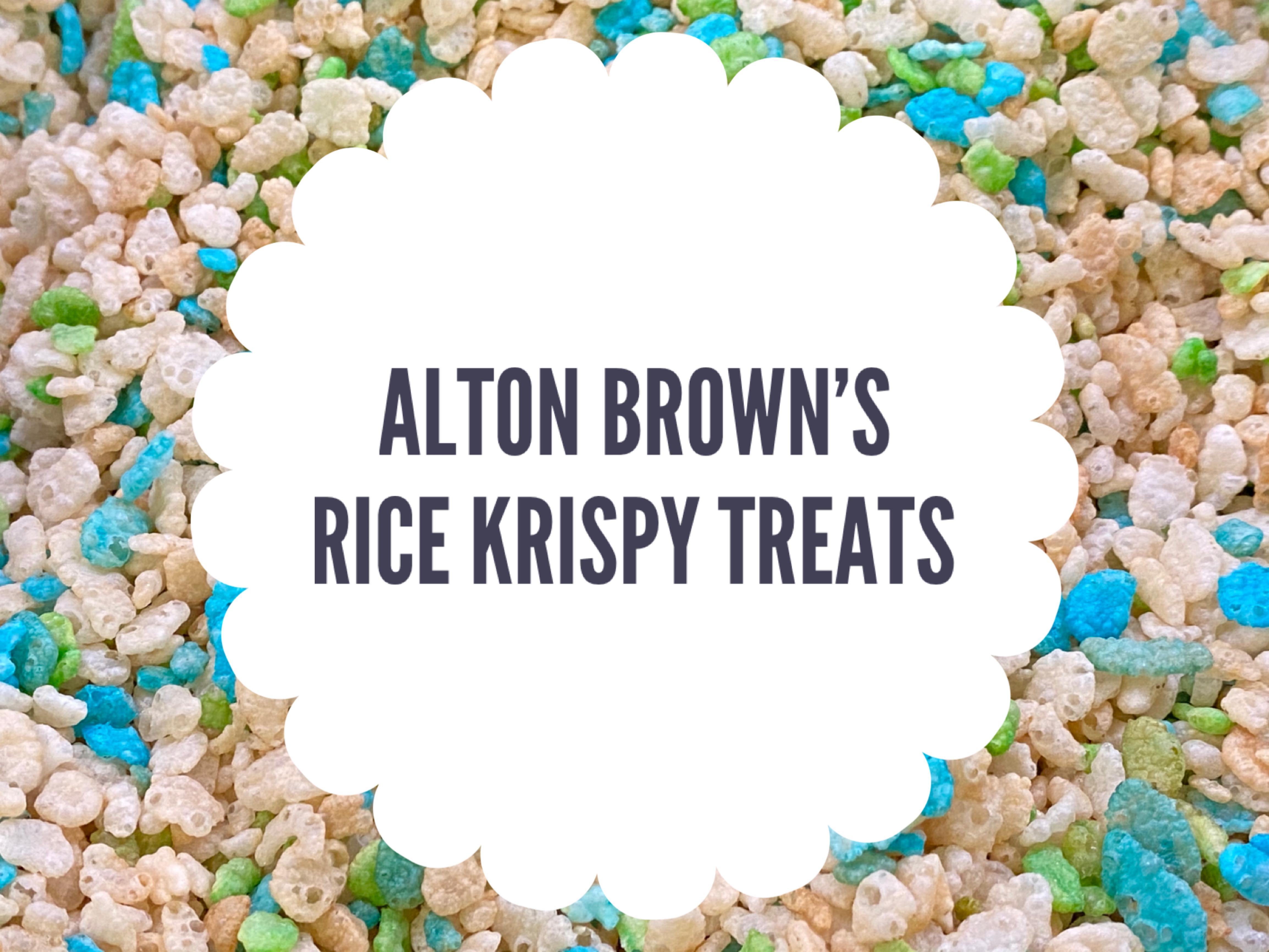 Rice Krispy Treats
