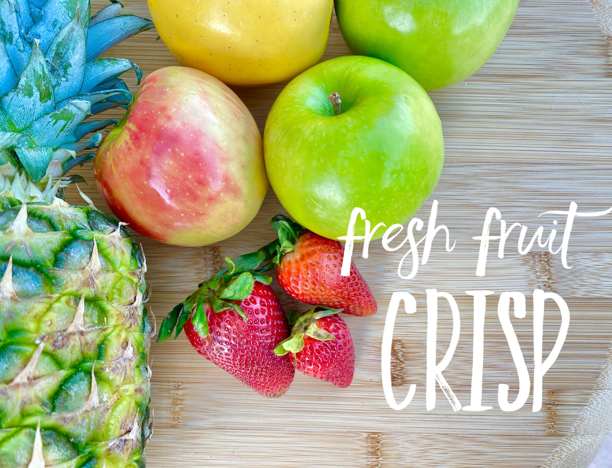 fruit crisp title