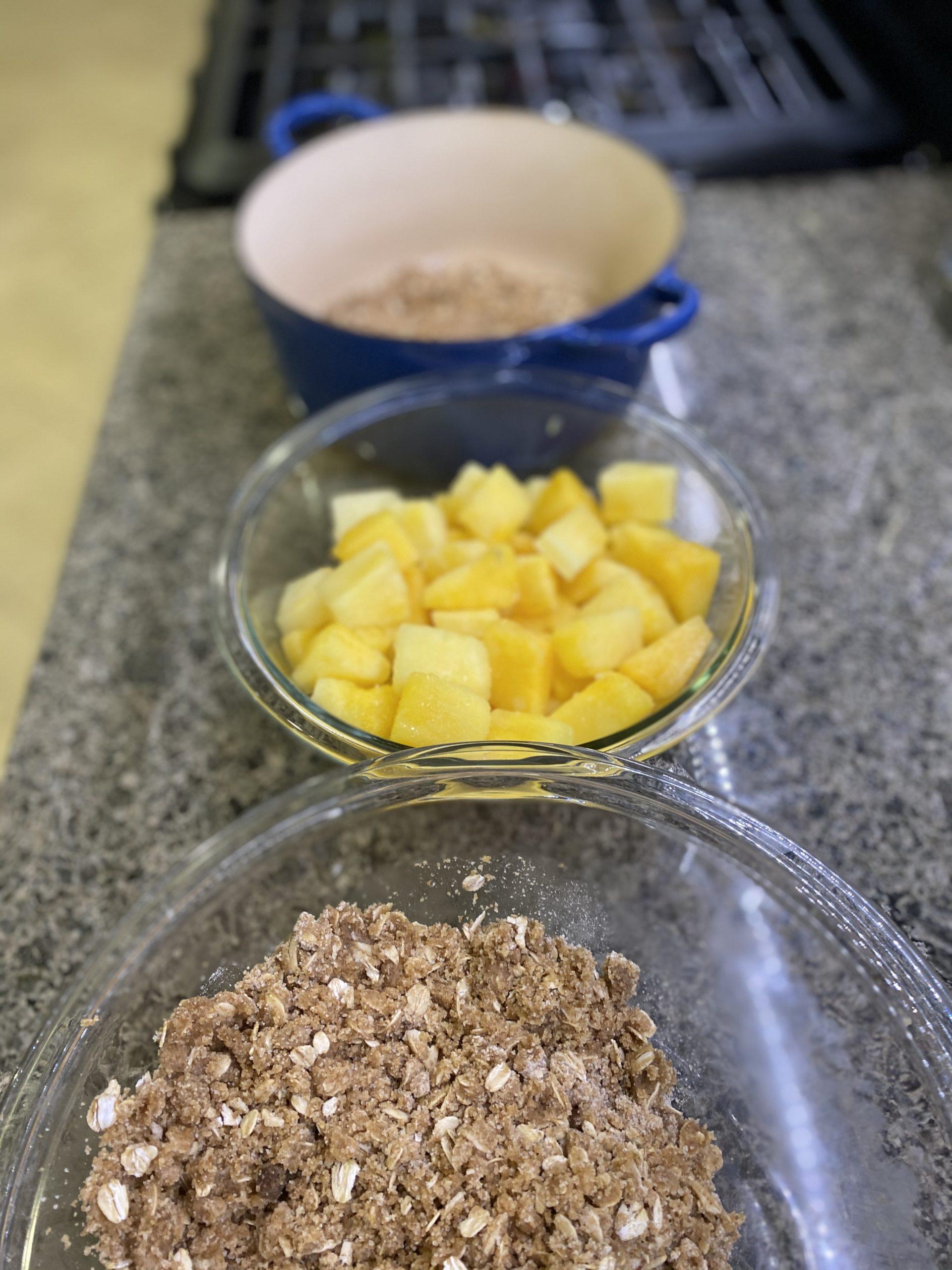 preparing crisp