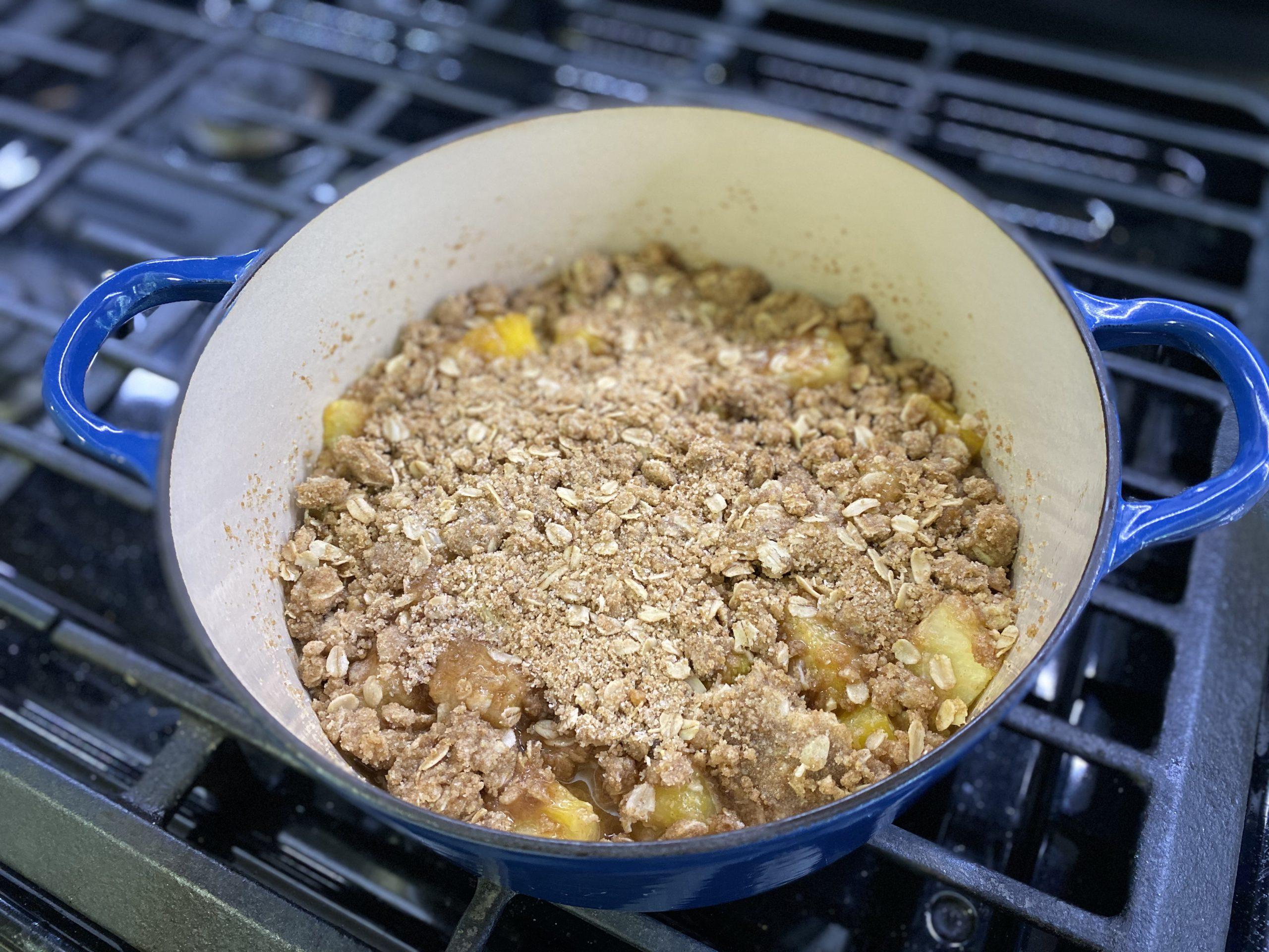 baked crisp